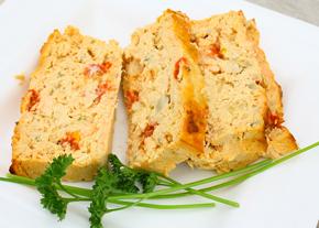 cake aux légumes et tomme de Savoie