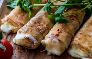Samoussas de raclette