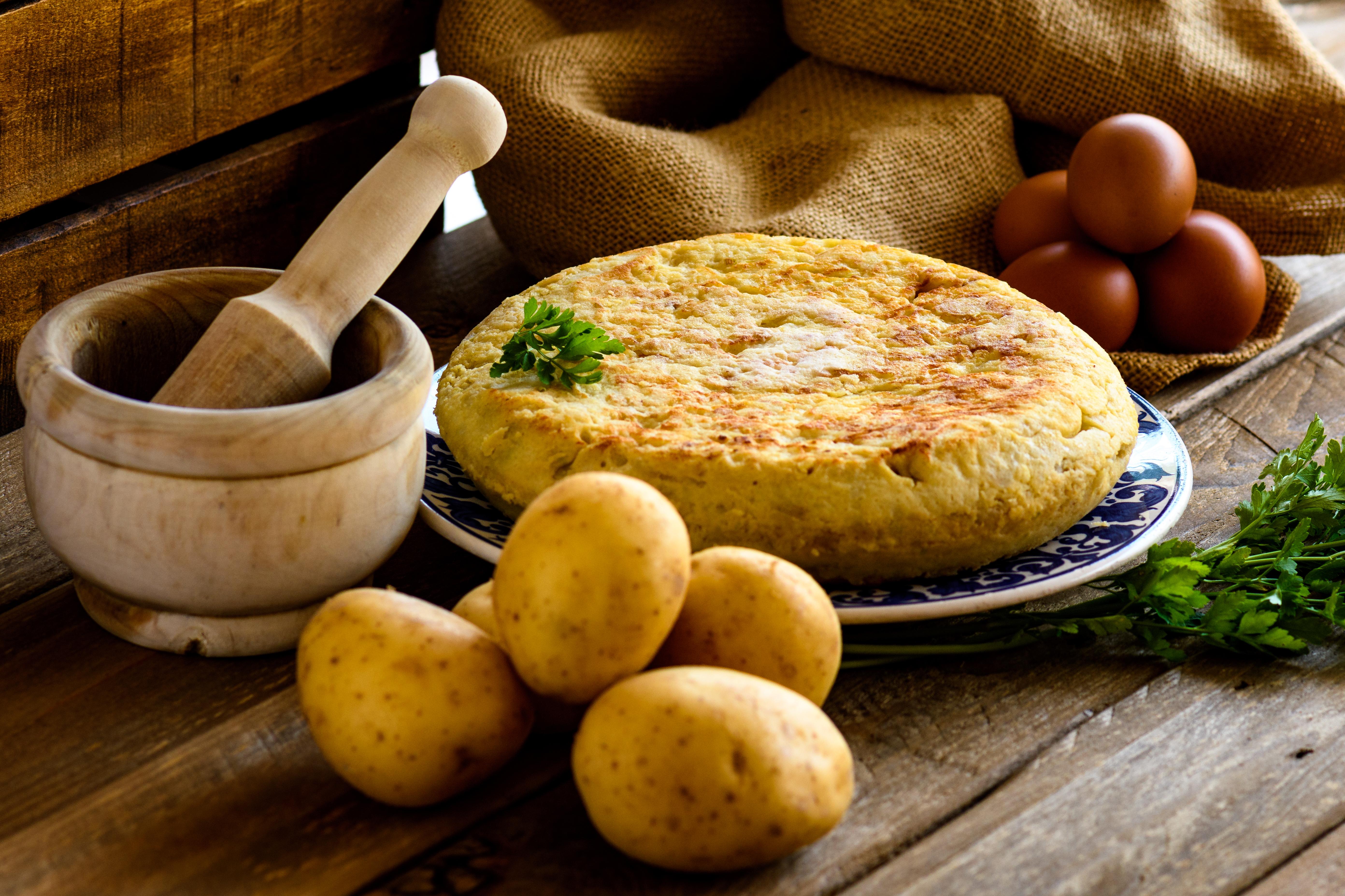 recette de tortillas de pomme de terre au saucisson et au comté